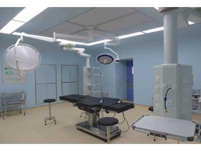 医院圆弧形无缝手术室