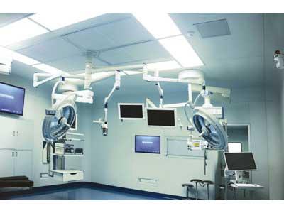 医院圆弧形有缝手术室