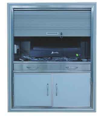 41100系列藏墙式手术室专用柜(电脑柜-铝材款)