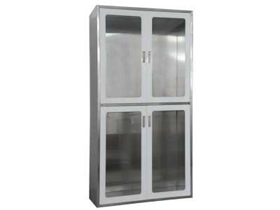 41100系列藏墙式手术室专用柜(工艺玻璃柜-铝材款)