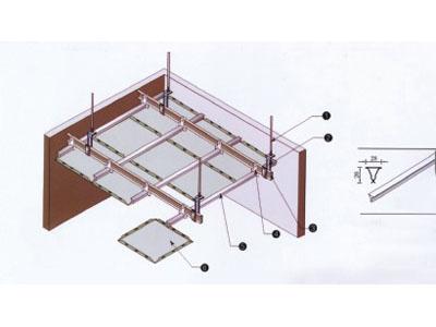 15200系列加强型铝扣板吊顶天花